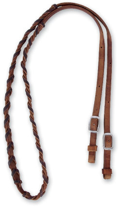 Martin Saddlery Barrel Rein with Latigo Lacing Best Price