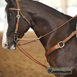 Martin Saddlery German Martingale with Roping Reins Best Price