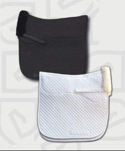 EOUS Half Lined Sheepskin Square Dressage Pad Best Price