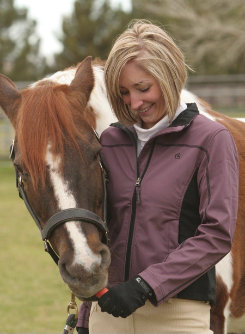 EOUS Ladies Sienna Softshell Jacket<font color=#000080>- SIZE:  Small  COLOR:  Blackberry</font> Best Price