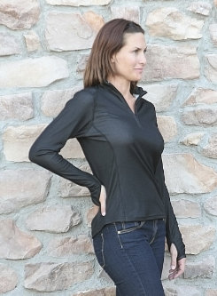 EOUS Ladies Long Sleeve Technical Shirt Best Price