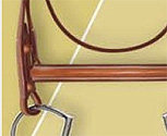 Ovation Collection Plain Raised Bridle With Laced Reins