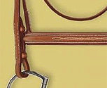 Ovation Collection Raised Fancy Stitched Padded Bridle