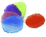 EquiStar Jelly Glitter Two-Sided Scrubber