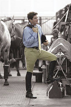 Ovation Men's EuroWeave Riding Breeches