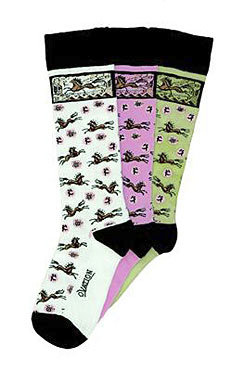 Ovation Ladies Primitive Paint Sock