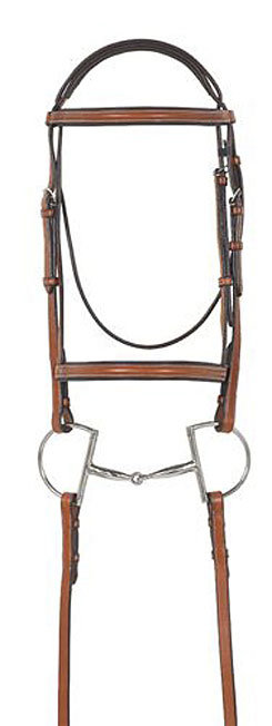 Ovation Ultra Raised Padded Bridle with Comfort Crown