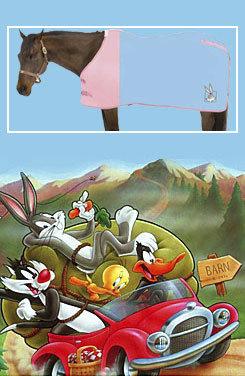 Looney Tunes Bugs Bunny Fleece Horse Cooler Best Price