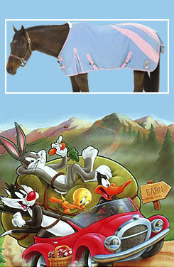 Looney Tunes Bugs Bunny Horse Stable Sheet Best Price