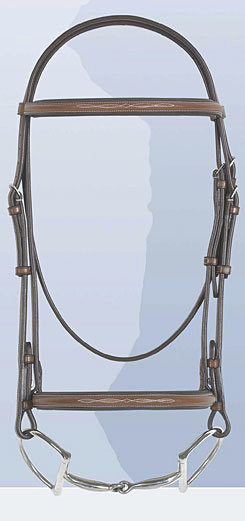 Rodrigo Fancy Raised Padded Bridle Less Reins
