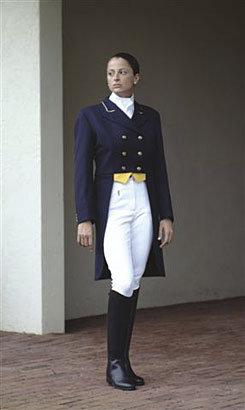 Ovation Ladies Dressage Shadbelly-Black Best Price