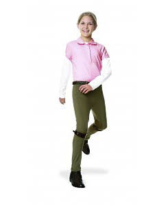 Ovation Girls Euroweave Side Zip Jodhpurs