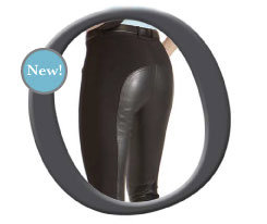 Ovation Ladies Euroweave DX Leather Full Seat Riding Breeches