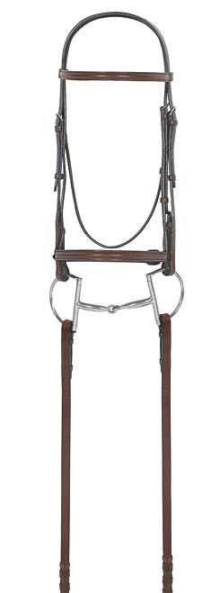 Camelot Select Plain Raised Bridle with  Laced Reins Best Price