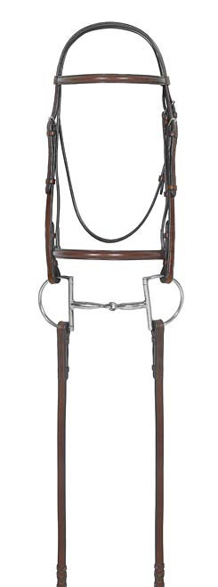 Camelot Select Square Raised Bridle with Laced Reins Best Price