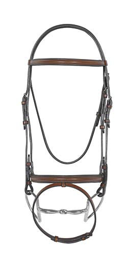 Camelot Select Padded Eventing Bridle with Flash Best Price