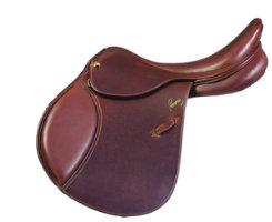 Pessoa A/O Grained Leather Saddle with XCH