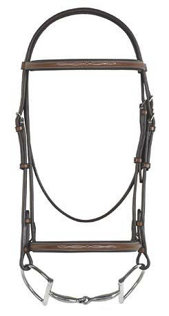 Rodrigo Fancy Raised Padded Bridle