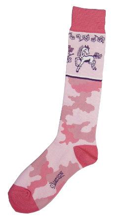 Ovation Childs Pink Camo Socks Best Price