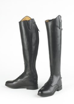 Ovation Ladies Gold Circuit Naturals Pro Field Boots