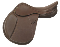 Ovation Evolution Covered Leather Jumping Saddle with XCH