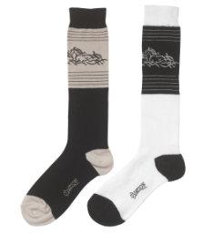 Ovation Ladies Tribal Horse Socks Best Price