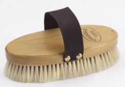 Equi-Essentials Wood Backed Goat Hair Body Brush Best Price