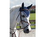Rodrigo Jumper Bridle with Rubber Covered Reins