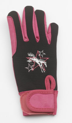Ovation Girls' Super Star Riding Gloves