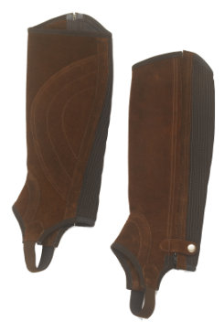 Ovation Ladies Sport Suede Half Chaps
