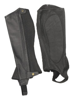 Ovation Ladies Super Stick Full Grain Half Chaps