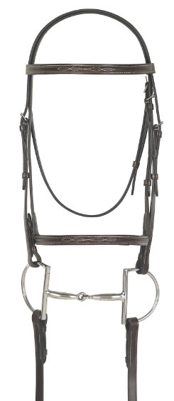 Camelot Gold Fancy Raised Bridle with Laced Reins Best Price