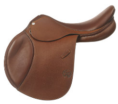 Pessoa Grained Leather A/O Pro Saddle with XCH System