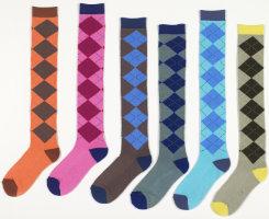 Ovation Ladies Argyle Long Boot Socks Best Price
