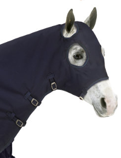 Centaur 1200D Horse Hood <font color=#000080> -SIZE: Small COLOR: Navy</font> Best Price