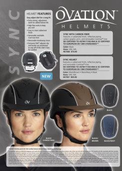 Ovation Sync with Carbon Fiber Riding Helmet Best Price