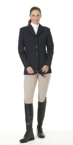 Ovation Ladies Signature Collection Stretch Wool Show Coat