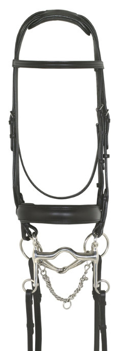 Ovation Super Comfort Dressage Double Bridle