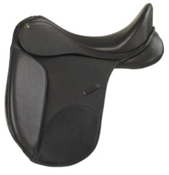 Camelot Covered Leather Dressage Saddle Best Price