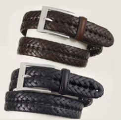 Ovation Ladies Braided Hialeah Show Belt