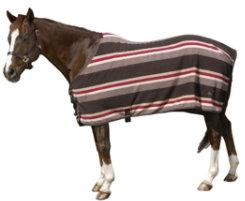 Pessoa Striped Fleece Lightweight Stable Blanket Best Price