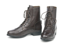 Ovation Ladies Sport Laced Paddock Boots Best Price