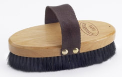 Equi-Essentials Wood Backed Horshair Body Brush Best Price
