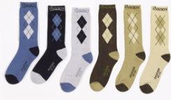 Ovation Ladies Dri-Lex Mid Calf Argyle Socks Best Price