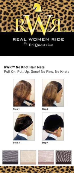 Ovation Real Women Ride No Knot Hair Net Best Price