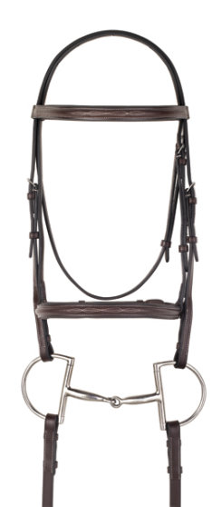 Camelot Gold Fancy Raised Padded Bridle with Reins Best Price