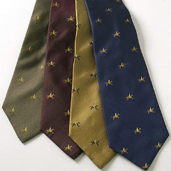 Essex Classics Mens Horse and Rider Silk Neckties