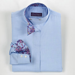 Essex Classics Girls Chamberlain Wrap Collar Show Shirt Best Price
