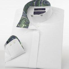 Essex Girls Performance Florance Wrap Collar Show Shirt Best Price