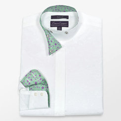 Essex Gorls Performance Cassselton Wrap Collar Show Shirt Best Price